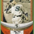 2007 Topps Baseball The Streak Before the Streak Joe DiMaggio (Seals) JDSF25