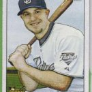 2007 Bowman Heritage Baseball SP Short Print No Signature Rookie Kevin Kouzmanoff (Padres) #237