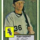 2007 Topps 52 Rookie Edition Chrome Refractor Rookie Ryan Sweeney (White Sox) #TCRC58 (#'d 088/552)
