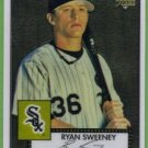 2007 Topps 52 Rookie Edition Chrome Rookie Ryan Sweeney (White Sox) #TCRC58 (#'d 1156/1952)