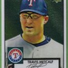 2007 Topps 52 Rookie Edition Chrome Rookie Travis Metcalf (Rangers) #TCRC56 (#'d 0906/1952)