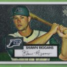 2007 Topps 52 Rookie Edition Chrome Rookie Shawn Riggans (Devil Rays) #TCRC59 (#'d 0511/1952)