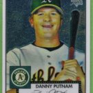 2007 Topps 52 Rookie Edition Chrome Rookie Danny Putnam (Athletics) #TCRC46 (#'d 1010/1952)