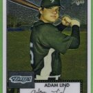 2007 Topps 52 Rookie Edition Chrome Rookie Adam Lind (Blue Jays) #TCRC44 (#'d 1518/1952)