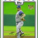 2008 Topps Update & Highlights Baseball Rookie Brandon Boggs (Rangers) #UH111