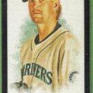 2007 Allen & Ginter Baseball Mini Black Border Jeff Weaver (Mariners) #167