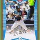 2008 Bowman Draft Picks & Prospects Gold Greg Golson (Phillies) #BDPP73