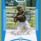 2008 Bowman Draft Picks & Prospects Blue Kenny Wilson (Blue Jays) #BDPP3 (#'d 271/399)