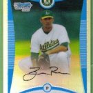 2008 Bowman Draft Picks & Prospects Refractor Tyson Ross (Athletics) #BDPP48