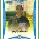2008 Bowman Draft Picks & Prospects Chrome Refractor Edgar Olmos (Marlins) #BDPP45
