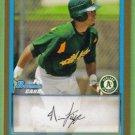 2009 Bowman Baseball Gold Prospect Nino Leyja (Athletics) #BP71