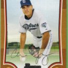2009 Bowman Baseball Orange Chris Young (Padres) #135 (#'d 032/250)