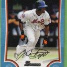 2009 Bowman Baseball Blue Jose Reyes (Mets) #16 (#'d 488/500)