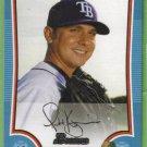 2009 Bowman Baseball Blue Scott Kazmir (Rays) #123 (#'d 223/500)