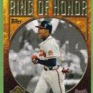 2009 Topps Baseball Ring of Honor David Justice (Braves) #RH60