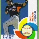 2009 Topps Baseball World Baseball Classic Greg Halman (Netherlands) #BCS13