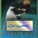2009 Topps Baseball Career Best Certified Autograph Chris Volstad (Marlins) #CBA-CV