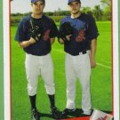 2009 Topps Baseball Classic Combos Jeremy Sowers & Aaron Laffey (Indians) #333