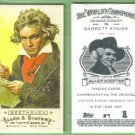 2009 Topps Allen & Ginter Baseball Mini A&G Back Ludwig Van Beethoven (Composer) #83