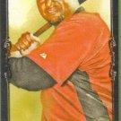 2009 Topps Allen & Ginter Baseball Mini Black Border Carlos Lee (Astros) #72