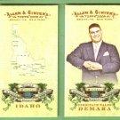2009 Topps Allen & Ginter Baseball World's Greatest Hoaxes Ferdinand Waldo Demara #HHB8