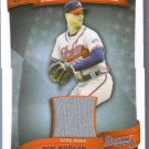 2010 Topps Baseball Peak Performance Game Used Jersey Relic Tim Hudson (Braves) #PPR-TH