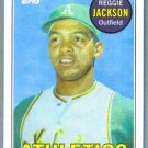 2010 Topps Baseball The Cards Your Mom Threw Out TCYMTO Reggie Jackson (Athletics) #CMT-18