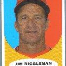 2010 Topps Heritage Baseball Jim Riggleman Mgr (Nationals) #134
