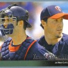 2010 Upper Deck Baseball Minnesota Twins Team Checklist w/ Joe Mauer (Twins) #587