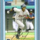 2010 Bowman Baseball Blue Rookie Prospect Jaff Decker (Padres) #BP109 #'d 495/520