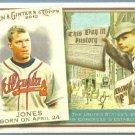 2010 Topps Allen & Ginter Baseball This Day in History Chipper Jones (Braves) #TDH5