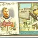 2010 Topps Allen & Ginter Baseball This Day in History Dan Uggla (Marlins) #TDH58