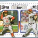 2010 Topps Update Baseball Legendary Lineage Larry Walker (Rockies) & Justin Morneau (Twins) #LL72