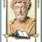 2010 Topps Allen & Ginter Baseball Mini Worlds Wordsmiths Marcus Aurelius #WGWS11