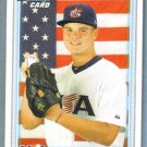 2010 Bowman Draft Picks & Prospects 1st Bowman Card USA Nick Travieso (Team USA) #BDPP110