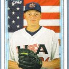 2010 Bowman Draft Picks & Prospects 1st Bowman Card USA Ryan Burr (Team USA) #BDPP96