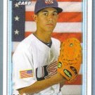 2010 Bowman Draft Picks & Prospects 1st Bowman Card USA Ivan Pelaez (Team USA) #BDPP105