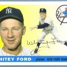 2011 Topps Baseball 60 Years of Topps Lost Cards Whitey Ford (Yankees) #60YOTLC-6