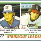2011 Topps Baseball 60 Years of Topps Phil Niekro & Nolan Ryan #60YOT-27