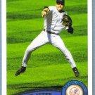 2011 Topps Baseball Brett Anderson (Athletics) #140