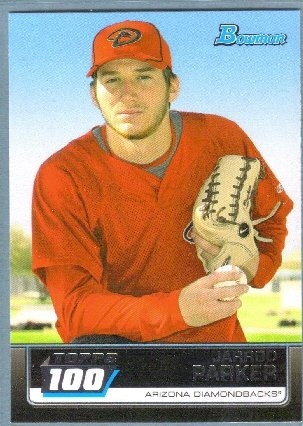 2011 Bowman Baseball Topps 100 Rookie Jarrod Parker (Diamondbacks) #TP60