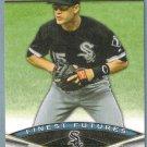 2011 Bowman Baseball Finest Futures Gordon Beckham (White Sox) #FF3