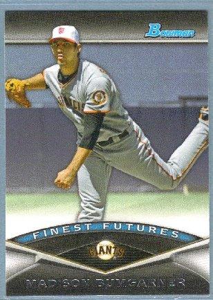 2011 Bowman Baseball Finest Futures Madison Bumgarner (Giants) #FF25