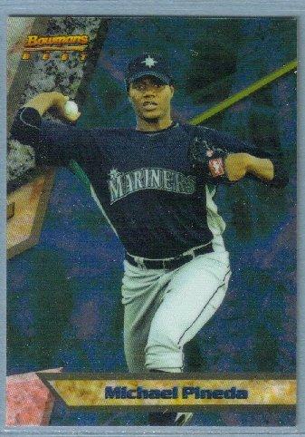 2011 Bowman Baseball Bowman's Best Prospect Michael Pineda (Mariners) #BBP8