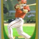 2011 Bowman Baseball GOLD Rookie Konard Schmidt (Diamondbacks) #194