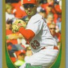 2011 Bowman Baseball GOLD Rookie Daniel Descalso (Cardinals) #215