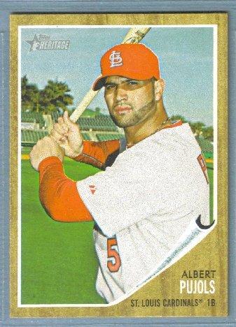 2011 Topps Heritage Baseball Yadier Molina (Cardinals) #106