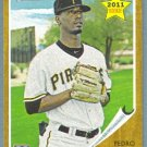 2011 Topps Heritage Baseball Rookie Pedro Ciriaco (Pirates) #229