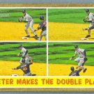 "2011 Topps Heritage Baseball ""Jeter Makes the Double Play"" Derek Jeter (Yankees) #311"
