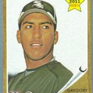 2011 Topps Heritage Baseball Rookie Gregory Infante (White Sox) #326